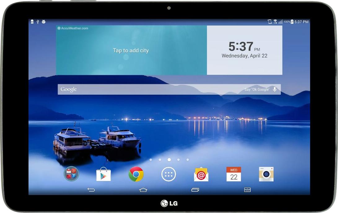 LG G Pad 10 1 – English – Mobile app testing -Remote TestKit